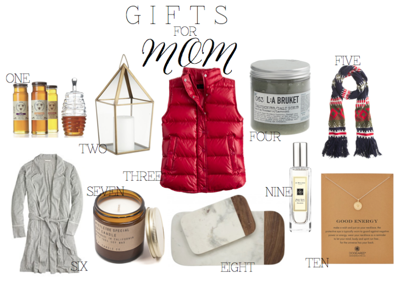Gift Guide: Gifts for Mom