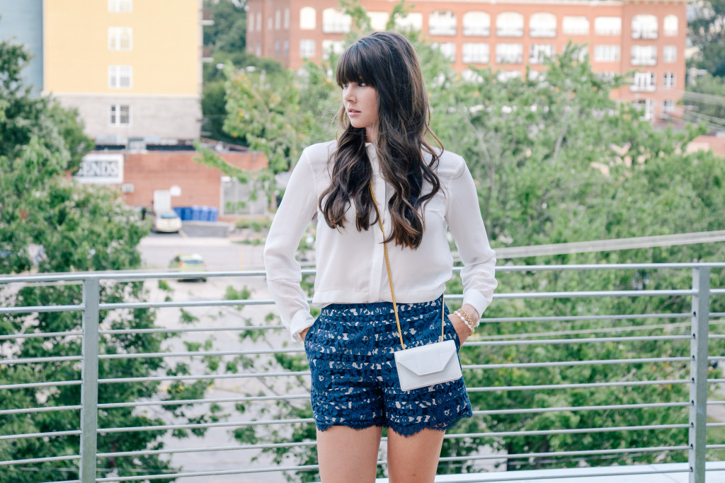 Anthropologie-lace-shorts-saint-laurent-ysl-blog-3