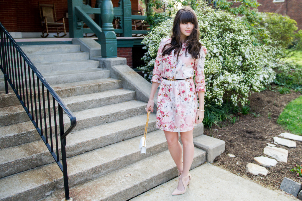 anthropologie floral shirtdress spring-5