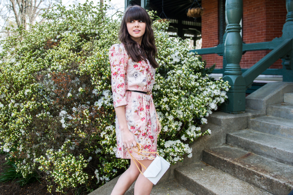 anthropologie floral shirtdress spring-7