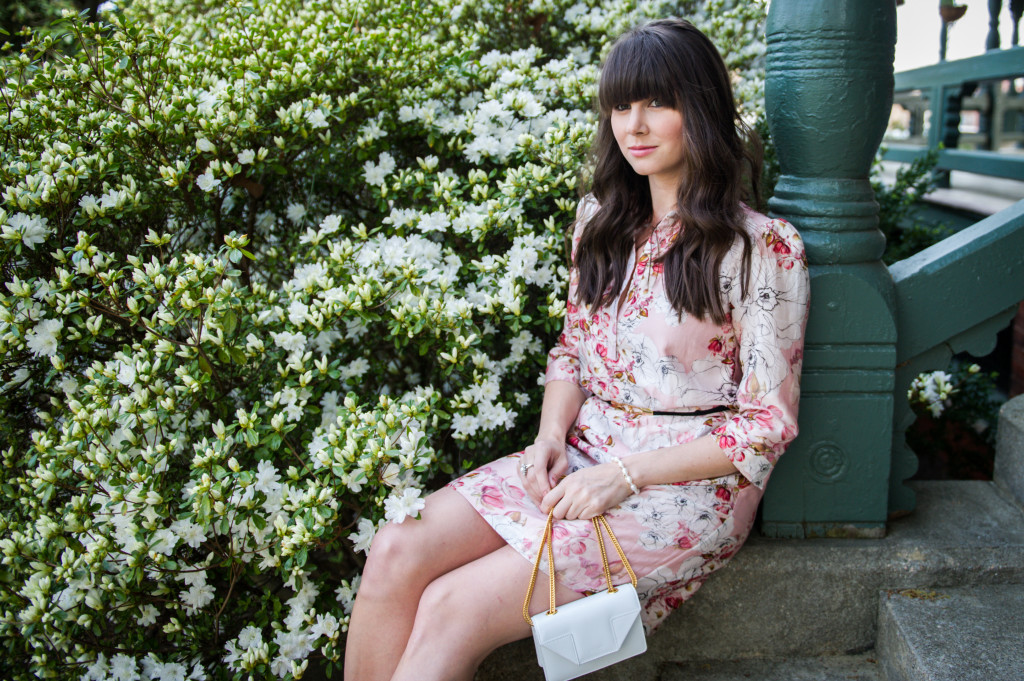 anthropologie floral shirtdress spring-9