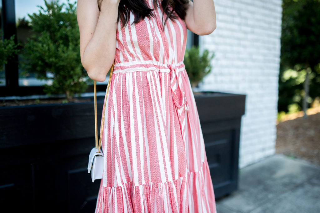 anthropologie striped midi dress-4