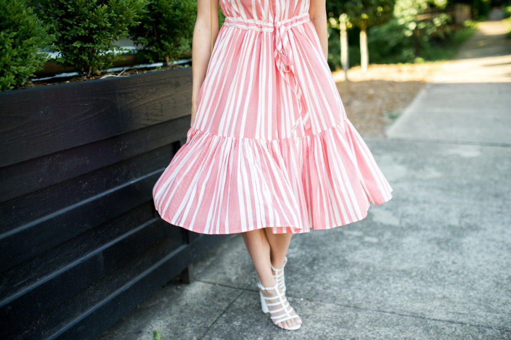 anthropologie striped midi dress-8