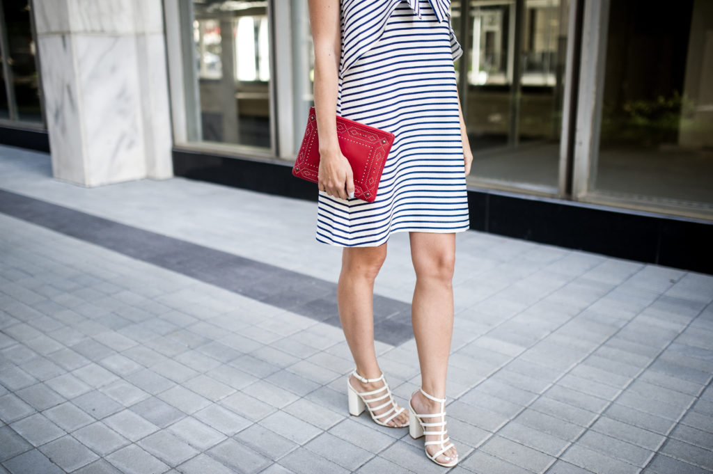 fourth of july outfit idea anthropologie bow dress-6
