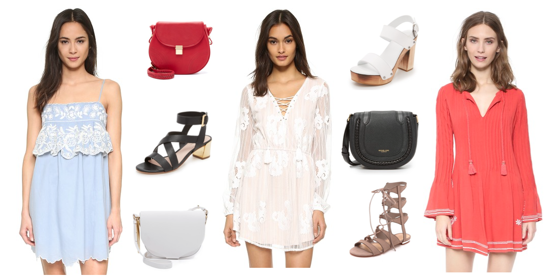 outfit inspiration shopbop fourth of july sale