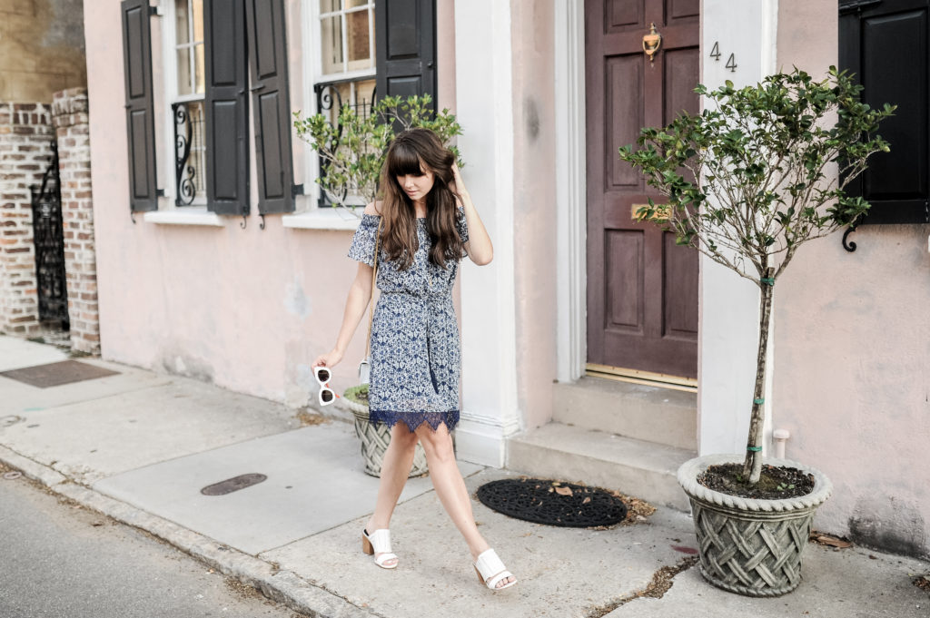 anthropologie blue greylin dress charleston-10