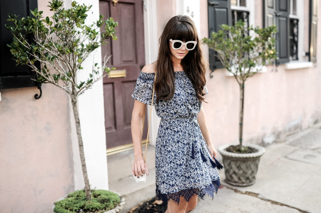anthropologie blue greylin dress charleston-7