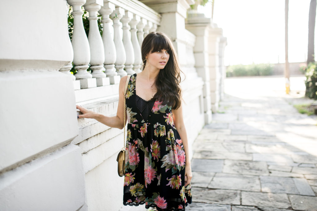 anthropologie floral dress charleston-7