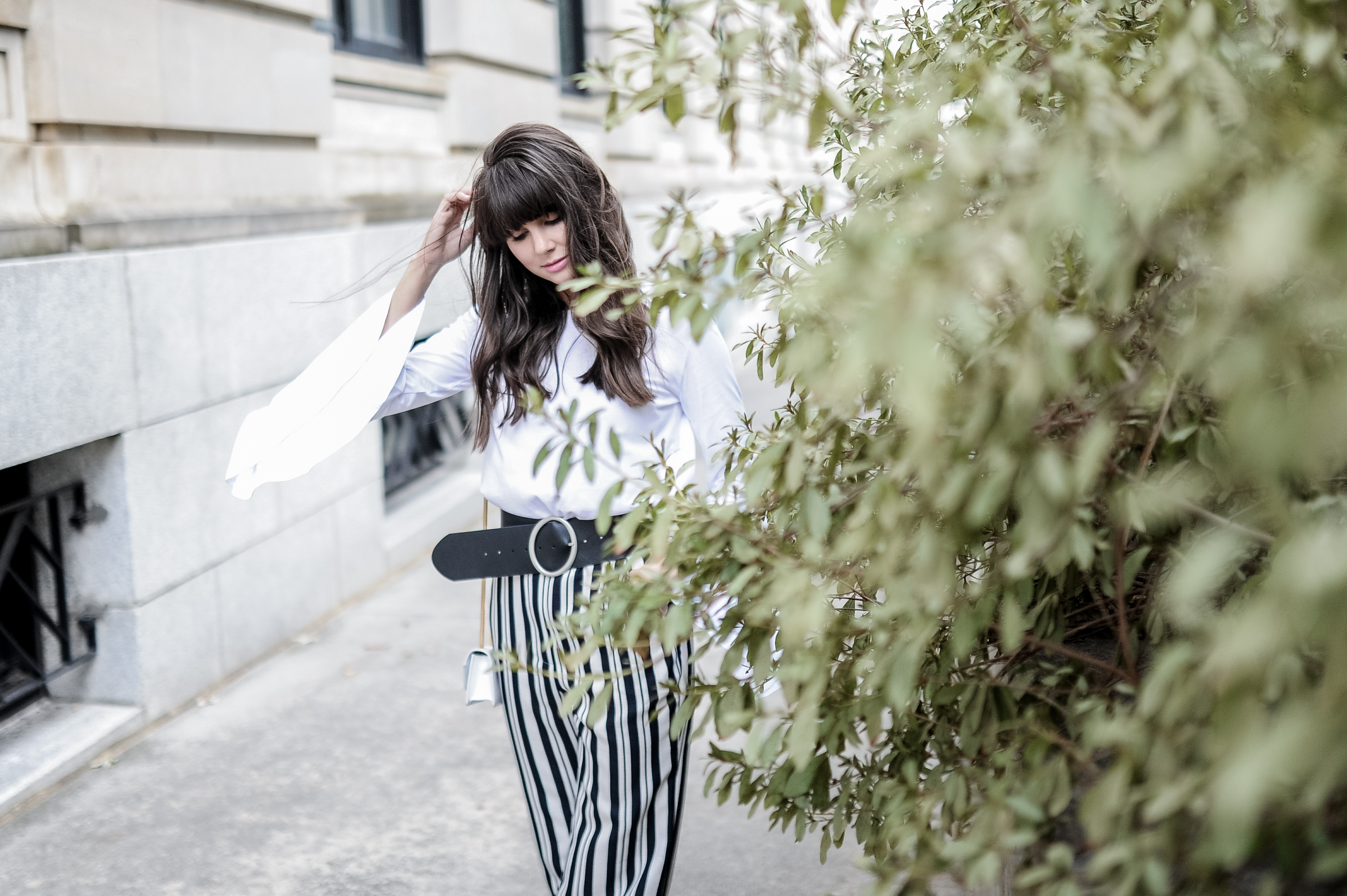 related apparel striped pants zara top-3