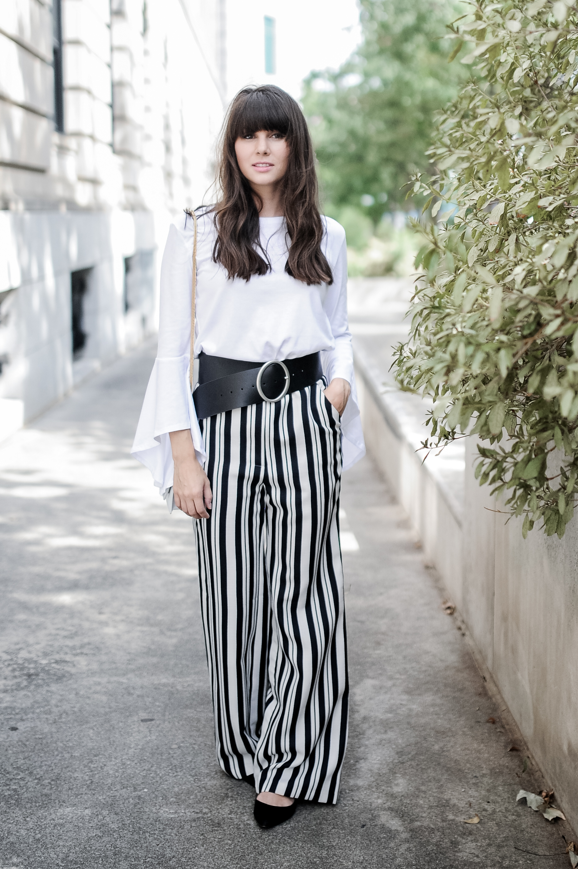 related apparel striped pants zara top-4