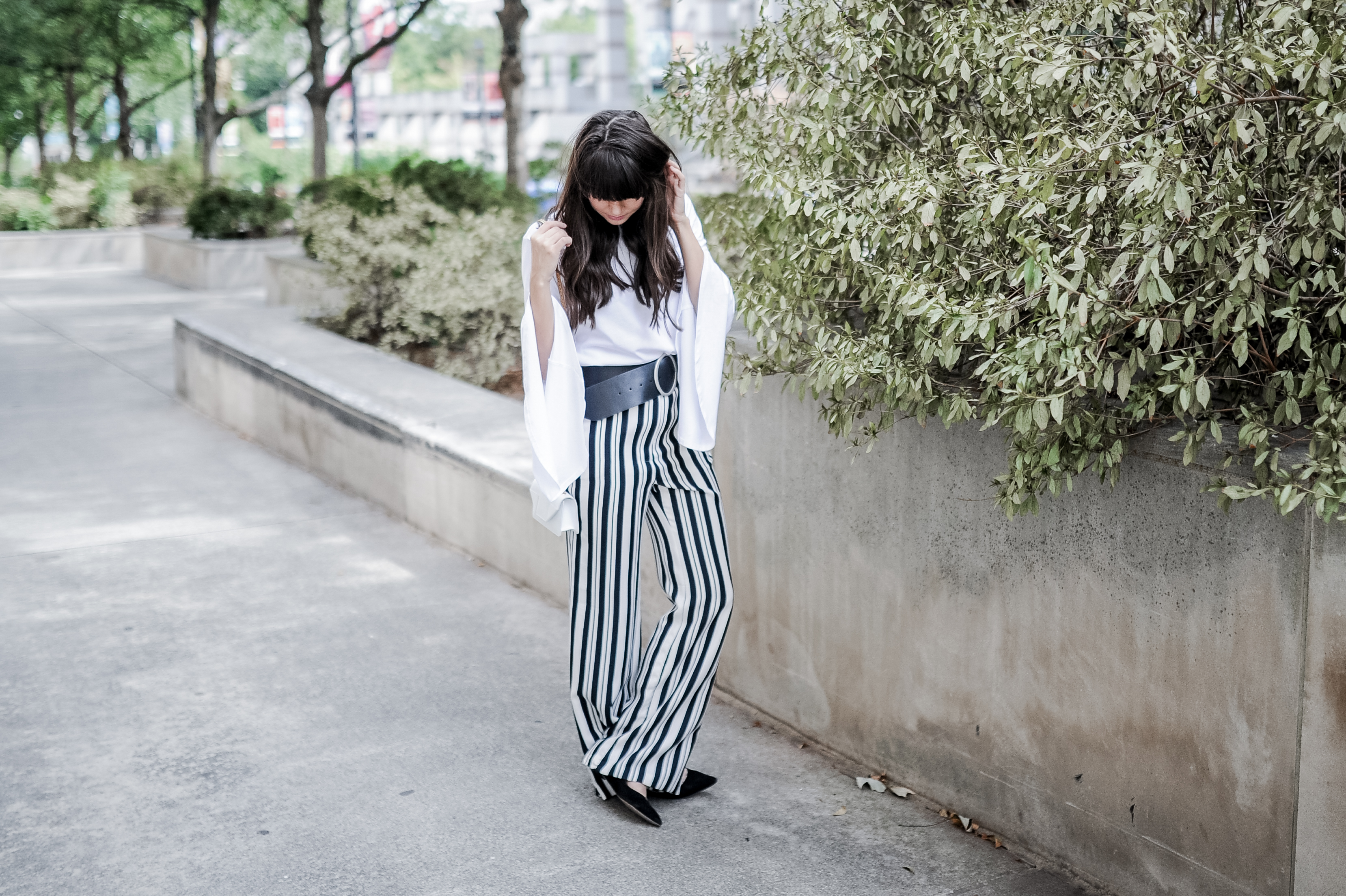 related apparel striped pants zara top-5