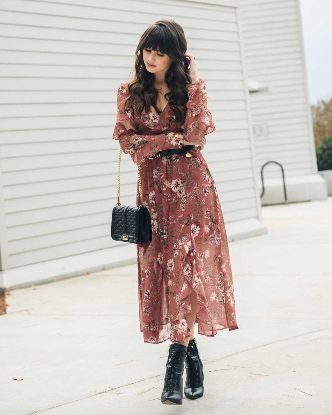 How to Wear Floral Dresses Year Round – THE M.A. TIMES