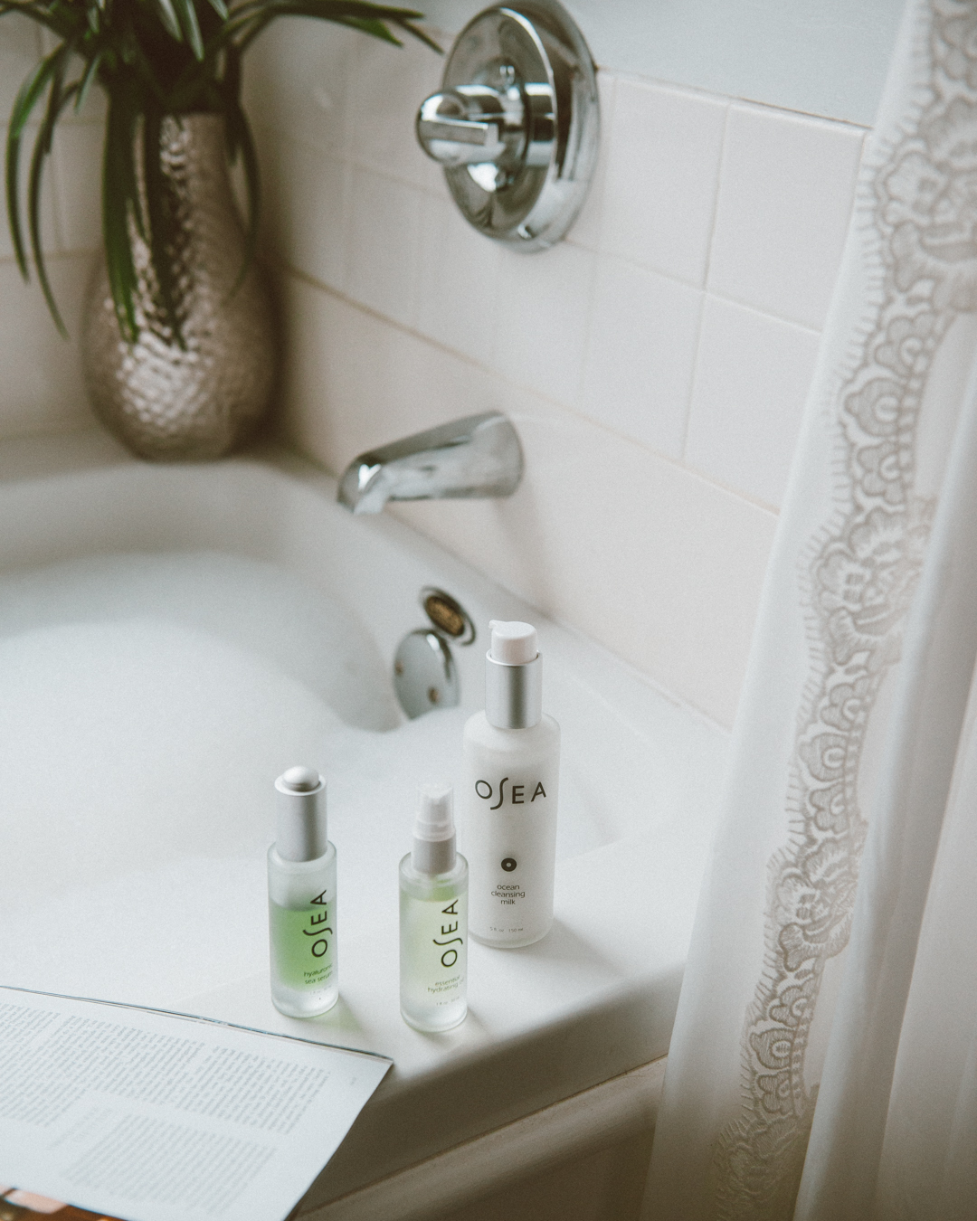 At Home Spa Day with Osea Skincare | THE M.A. TIMES
